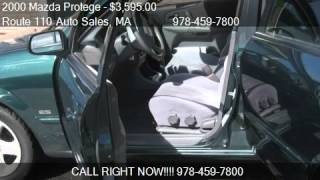 2000 Mazda Protege ES - for sale in Dracut, MA 01826