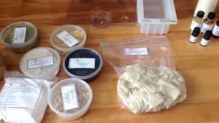Обзор первого заказа для мыловарения с нуля(Показываю обзор заказа ингредиентов для изготовления моего первого мыла с нуля. Все перечисленное в видео..., 2014-10-10T01:27:49.000Z)