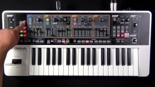 Roland Gaia SH-01 - How to Restore Patch Data from USB Memory