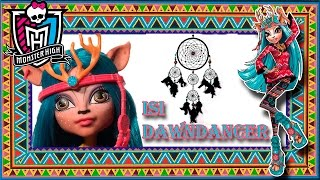 Isi Dawndancer (Изи Даунденсер) Monster High. Brand Boo Students. Распаковка и обзор на куклу/review thumbnail