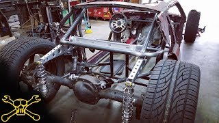 Custom Cantilever Suspension | Mustang Hot Rod Build