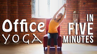 Office Yoga at your Desks from Furniture at Work