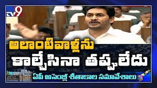 AP CM YS Jagan serious on NHRC over Disha incident in AP Assembly - TV9