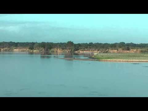 Selous Game Reserve - River landscape in Selous Game Reserve