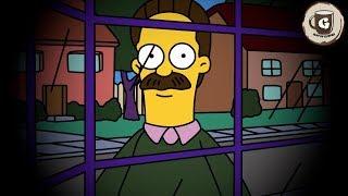 LA PERTURBADORA NOCHE DE NED FLANDERS | Eggs For Bart - Simpsons horror game