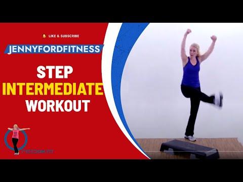 STEP AEROBICS -  STEP BY STEP 2 - JENNY FORD