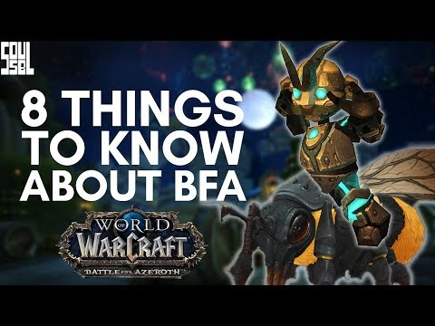 8 Things You Might Have Overlooked in the World of Warcraft Battle for Azeroth Alpha Reveal!