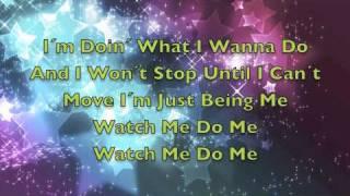 Watch Me - Shake It Up - Lyrics Video