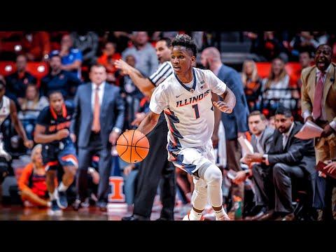 Illinois Basketball Highlights vs UT Martin 11/12/17