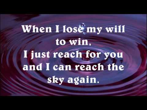 Christina Aguilera - I Turn To You (Lyrics)