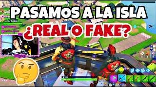MANEIRA ÚNICA DE PASSAR PARA A ILHA!!! * REAL ou FAKE? * Fortnite