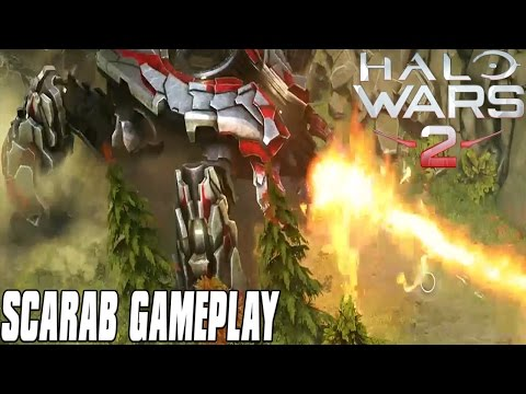 Halo Wars 2 Gameplay - NEW Blitz Mode! SCARAB GAMEPLAY