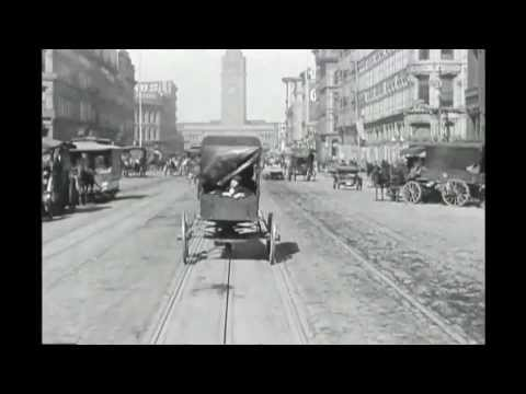 A Trip Down Market Street, 1906 - With Sound!