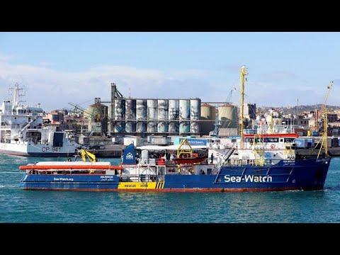 Salvini fecha porto de Lampedusa a Sea Watch 3