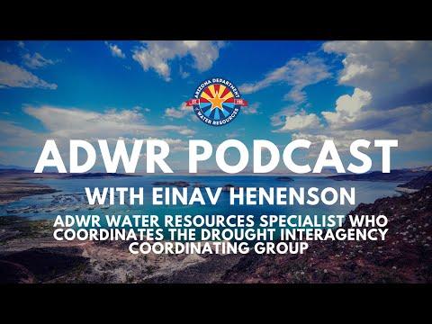 ADWR Podcast - Einav Henenson (Arizona Department of Water Resources)