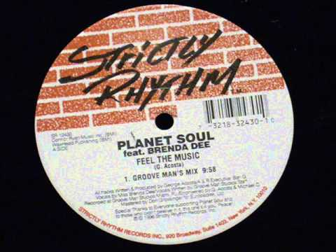 Feel the music (groove man's mix) - Planet soul feat. Brenda dee