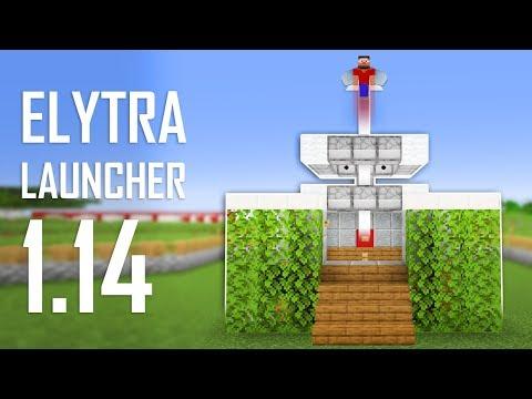 Cara Membuat Elytra Launcher - Minecraft Indonesia 1.14