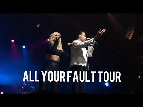 Seeing Bebe Rexha & G-Eazy At The OC Observatory !!! : All Your Fault Tour