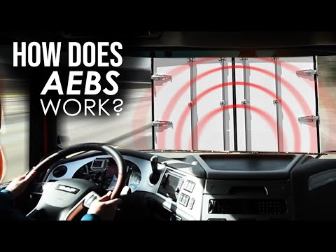 DAF Trucks UK | What to expect from AEBS (Advanced Emergency Braking System) | Instructional Video