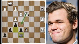 "Магнус Карлсен и ""легендарная техника"" Накамуры! Шахматы."