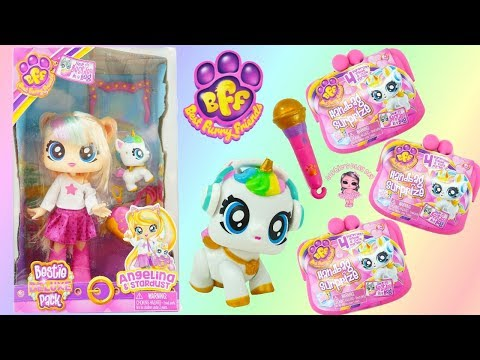 BFF Best Furry Friends Handbag Surprize and Besties Deluxe Pack Angelina and Stardust Unboxing