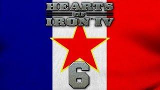 Mussolini'yi Roma'da idam ediyoruz!! - Hearts of iron 4 - French Commune 6. Bölüm Türkçe