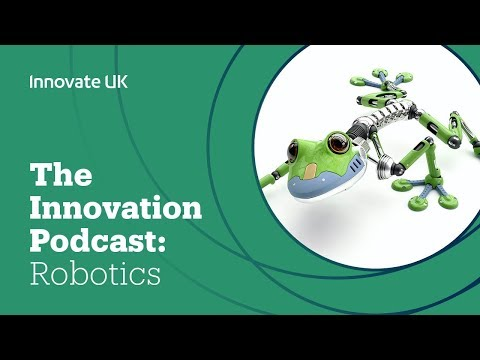 The Innovation Podcast: robotics & AI in extreme environments (ISCF - AI & Data Economy)