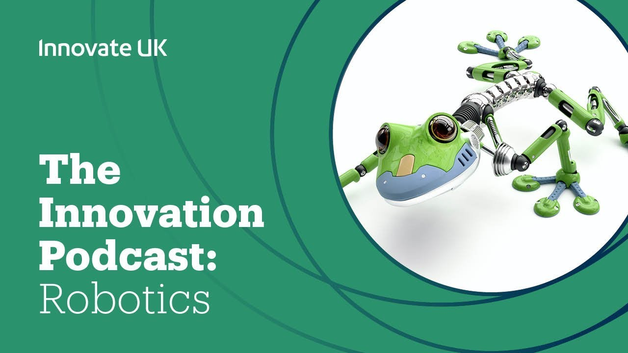 The Innovation Podcast Robotics Ai In Extreme Environments Iscf