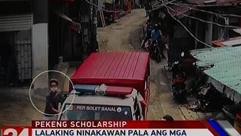 24 Oras: Lalaking ninakawan pala ang mga estudyanteng inalok ng pekeng scholarship, arestado