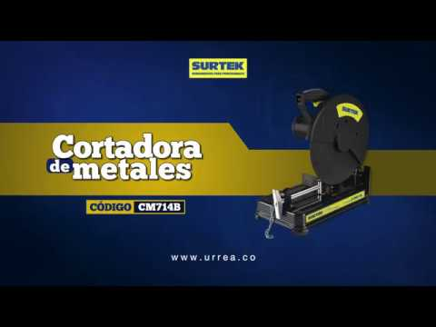 Cortadora de Metales Surtek URREA México