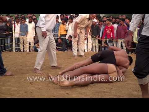 Teenagers fight to show their strength in Dangal