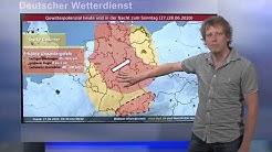 27.06.2020 Unwetterinformation - Deutscher Wetterdienst (DWD)