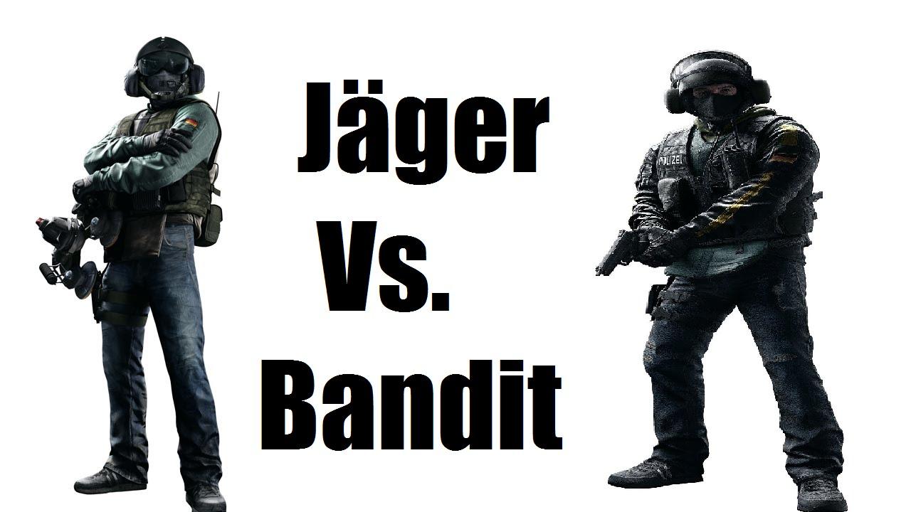 rainbow 6 siege jäger vs bandit operator duel who is the best