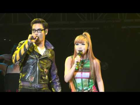 110715 GD & TOP (Feat Park Bom) - Oh Yea @ Singapore Korean Music Wave KMW 2011