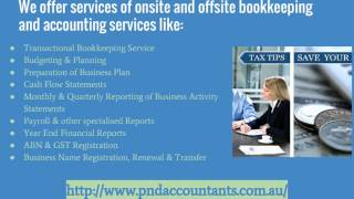 Online Bookkeeping Services | PND Accountants & Advisors