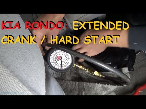 Kia Rondo - Extended Crank Time / Hard Start
