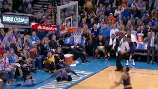LeBron James Performs Most Dramatic FLOP Ever...