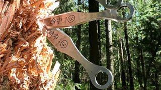 Метание ножей Кунаи первое знакомство
