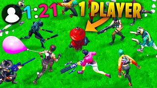 ONE PLAYER vs 21 ENEMIES!! - Fortnite Funny WTF Fails and Daily Best Moments Ep. 1372
