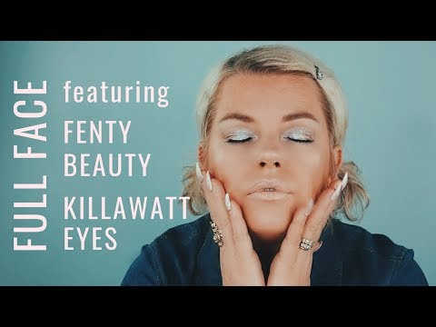 Full Face featuring Fenty Beauty Killawatt Foil Eyes | nicqui madden