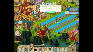 Castleville Stonehenge Strategy Video: Max out Stonehenge and complete 10 Quests in 3 minutes.