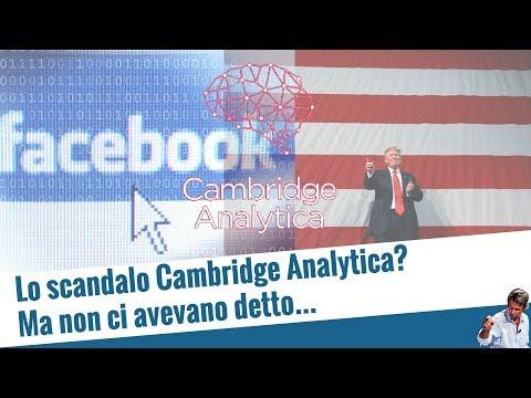 Lo scandalo Cambridge Analytica? Ma non ci avevano detto... (20 mar 2018)