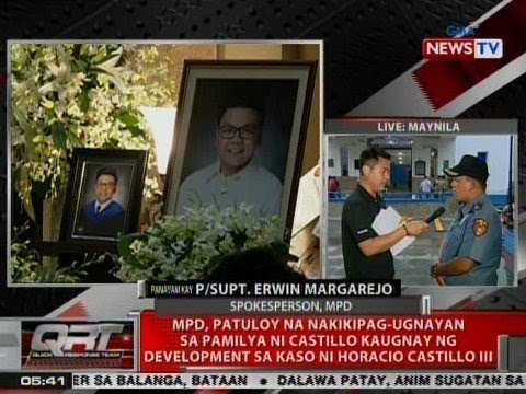 QRT: Panayam kay MPD Spokesperson P/Supt. Erwin Margarejo