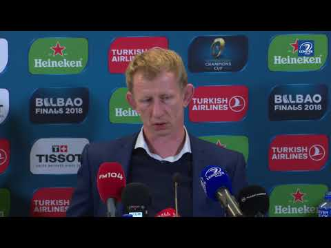 Leo Cullen's Champions Cup Semi-Final post-match reaction | Leinster v Scarlets