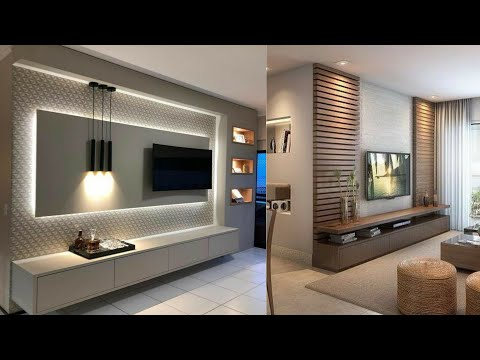 Top 100 Modern TV cabinets for living rooms - Home wall decorating ideas 2021