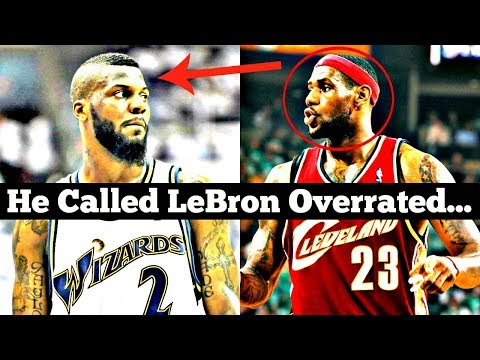 "Meet the ONLY NBA Player to Ever Call LeBron James ""Overrated"""