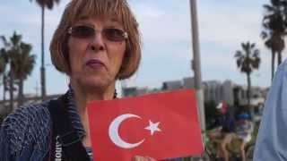 Amerika lilar Türk bayragini neye benzetti