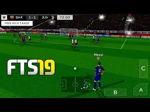 First Touch Soccer 2019 Mod (FTS 19) Apk + Obb Data Download