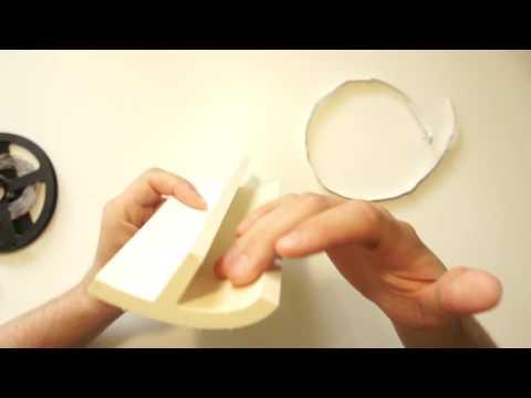 Светодиодная подсветка периметра (потолочный плинтус - багет, галтель)