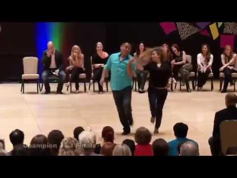 Champion Dancers Arjay Centeno and Torri Smith Desert City Swing Jack and Jill finals